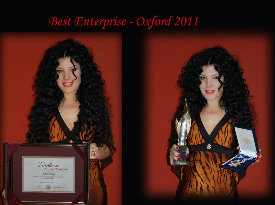 """Best Enterprise Award""  Oxford December 2011"