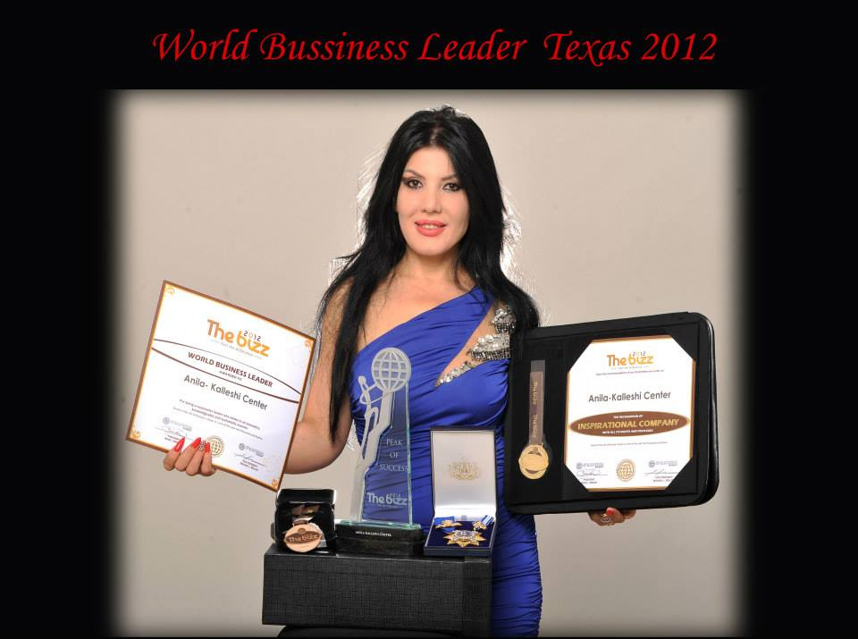 """WORLD BUSSINESS LEADER"" TEXAS 2012"